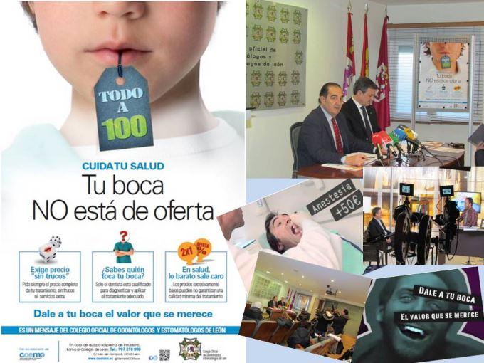 Campaña Colegio Odontólogos de León Campaña